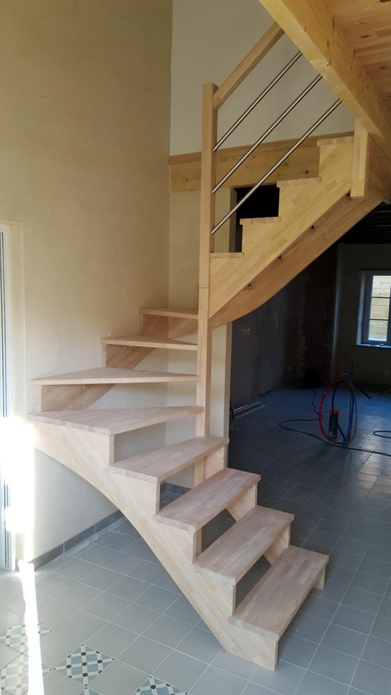 Styl'escalier : Gamme Création Escalier à crémaillères intérieurs extérieurs