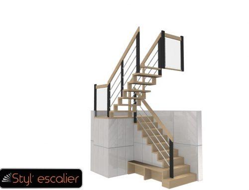 Styl'Escalier : Les Modélisations 3D